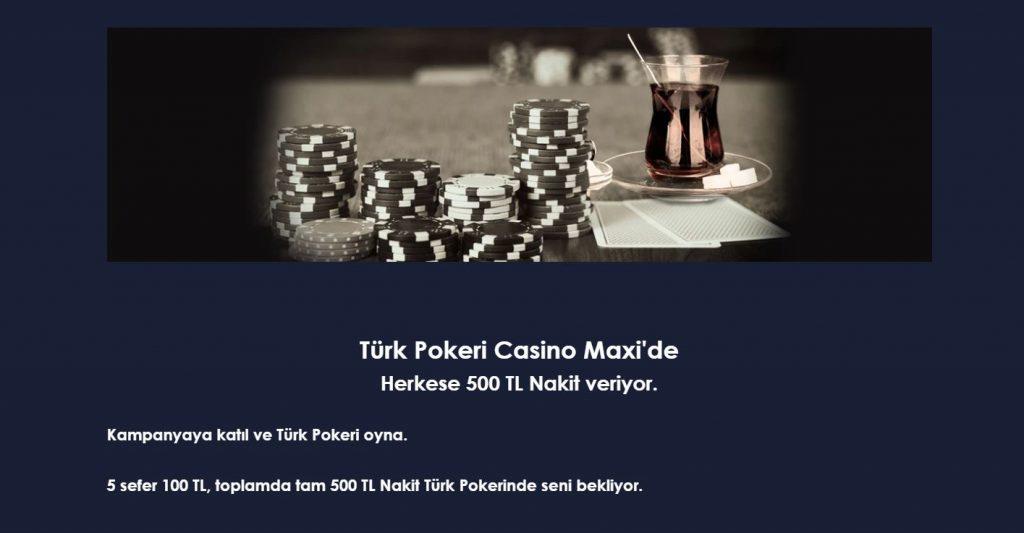 Poker - Rulet - Blackjack